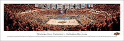 "Oklahoma State Cowboys ""Basketball Bedlam"" Game Night Panoramic Poster Print"