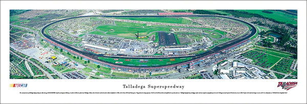 Talladega Superspeedway NASCAR Race Day Panoramic Poster - Blakeway Worldwide