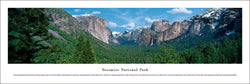 Yosemite National Park, Sierra-Nevada, California Panoramic Poster Print - Blakeway Worldwide