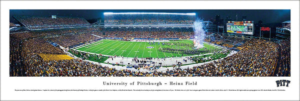"Pitt Panthers Football ""Enter the Arena"" (Kickoff 2013) Panoramic Poster Print - Blakeway"