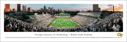 "Georgia Tech Yellow Jackets Football ""Grant Field 100th"" Panoramic Poster Print - Blakeway"