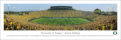 Oregon Ducks Football Autzen Stadium Gameday Panoramic Poster Print - Blakeway 2014