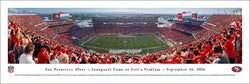 "San Francisco 49ers ""Inaugural Game at Levi's Stadium"" Panoramic Poster Print - Blakeway 2014"