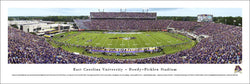 East Carolina Pirates Dowdy-Ficklen Stadium Gameday Panoramic Poster Print - Blakeway
