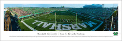 "Marshall University Thundering Herd ""Green-Out"" Edwards Stadium Panoramic Poster Print - Blakeway"