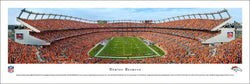 Denver Broncos Sports Authority Field Gameday Panoramic Poster Print - Blakeway 2015