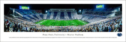 "Penn State Nittany Lions Football ""Stripe Night"" Panoramic Poster Print - Blakeway 2015"
