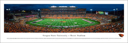 Oregon State Beavers Reser Stadium Game Night Panoramic Poster Print - Blakeway 2015