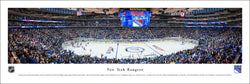 "New York Rangers ""Goal!"" Madison Square Garden Game Night Panoramic Poster Print - Blakeway 2015"