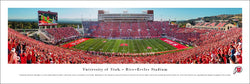 Utah Utes Football Rice-Eccles Stadium Gameday Panoramic Poster Print - Blakeway 2016