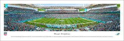 Miami Dolphins Hard Rock Stadium NFL Gameday Panoramic Poster Print - Blakeway 2016