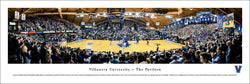 Villanova Wildcats Basketball The Pavilion Game Night Panoramic Poster Print (2017) - Blakeway