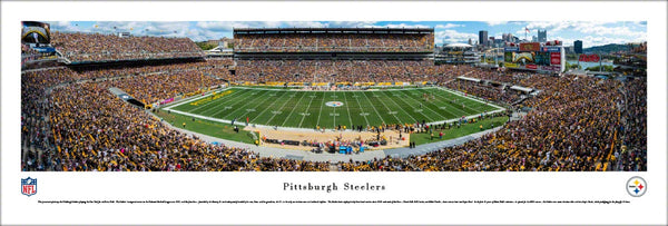 Pittsburgh Steelers Heinz Field NFL Gameday Panoramic Poster Print - Blakeway Worldwide