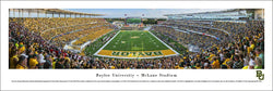 Baylor Bears Football McLane Stadium Gameday Panoramic Poster Print - Blakeway