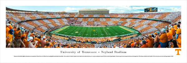"Tennessee Volunteers Football ""Checkerboard Day"" Neyland Stadium Panoramic Poster Print - Blakeway"