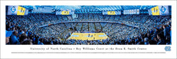 North Carolina Tar Heels Basketball Dean Smith Center Panoramic Poster Print - Blakeway