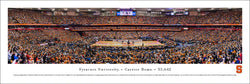 Syracuse Orange Basketball Carrier Dome Game Night Panoramic Poster - Blakeway 2019
