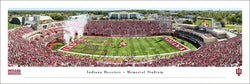 Indiana Hoosiers Football Memorial Stadium Gameday Panoramic Poster Print - Blakeway 2019