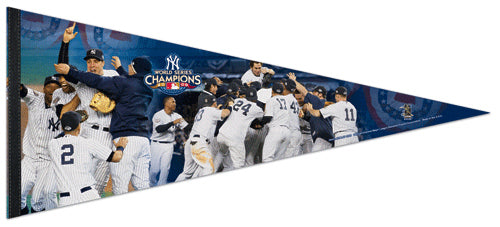 New York Yankees World Series Celebration 2009 EXTRA-LARGE Premium Felt Pennant - Wincraft