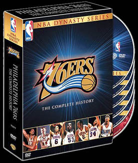 "DVD SET: Philadelphia 76ers ""Dynasty Series"" Collector's Set"