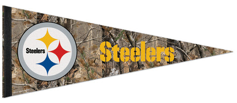 "Pittsburgh Steelers ""Backwoods"" Premium Felt Pennant - Wincraft"