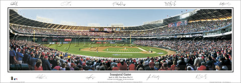 "Washington Nationals ""Inaugural Game"" (w/Sigs) - Everlasting"