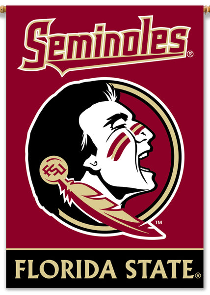 Florida State Seminoles Official 28x40 NCAA Premium Team Banner - BSI Products