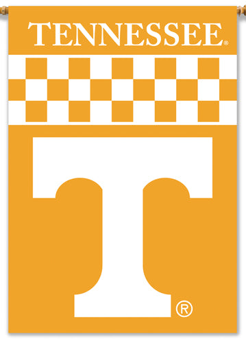 Tennessee Volunteers Official 28x40 NCAA Premium Team Banner - BSI Products