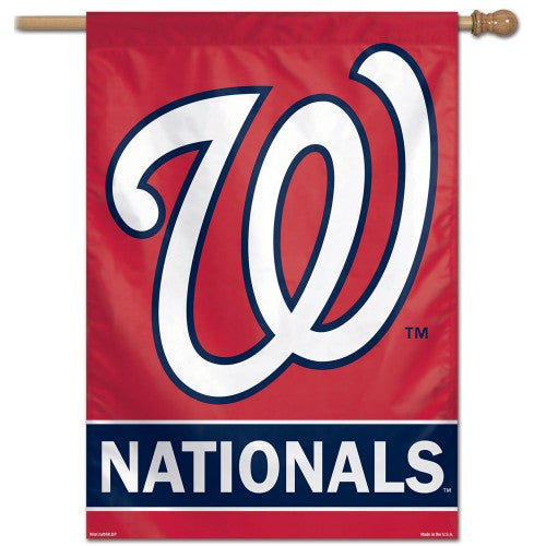 Washington Nationals Baseball Premium 28x40 Wall Banner - Wincraft Inc.