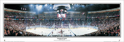 Phoenix Arizona Coyotes Inaugural Game at Glendale Arena Panoramic Poster Print (2003) - Everlasting Images Inc.