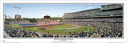 Los Angeles Dodgers Dodger Stadium 2008 NLCS Panoramic Poster Print - Everlasting Images