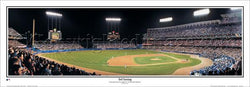 "LA Dodger Stadium ""3rd Inning"" Panoramic Poster Print - Everlasting Images"