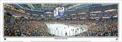 "Tampa Bay Lightning ""St. Louis' 1000th"" Panoramic Poster Print - Everlasting Images 2013"
