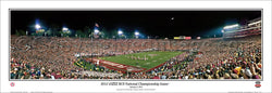 Florida State Seminoles BCS National Championship Game 2014 Panoramic Poster Print - Everlasting Images