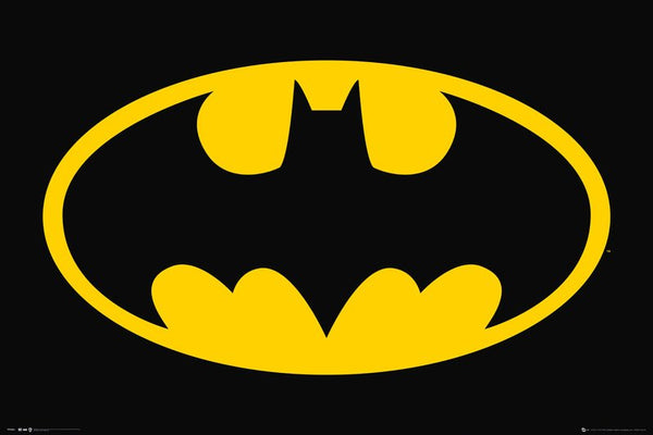 Batman Official DC Comics Logo Symbol Poster - GB Eye Posters
