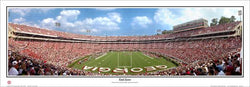 "Georgia Bulldogs Football ""End Zone"" Sanford Stadium Panoramic Poster Print - Everlasting Images"