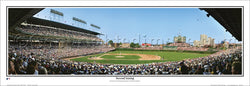 "Wrigley Field ""Batter Up"" Chicago Cubs Gameday Panoramic Poster Print - Everlasting Images"