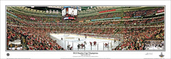Chicago Blackhawks 2013 Stanley Cup Champions Panoramic Poster Print - Everlasting Images
