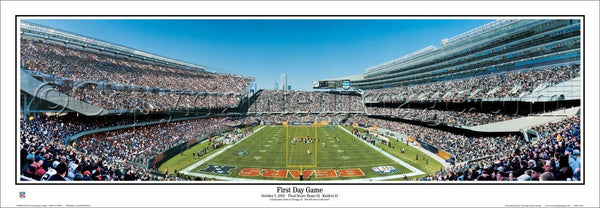 Chicago Bears First Day Game at New Soldier Field (2003) Premium Poster Print - Everlasting Images