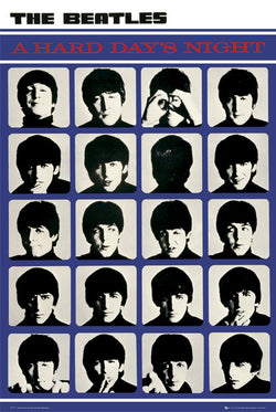 The Beatles A Hard Day's Night Album Cover Poster - GB Eye (UK)