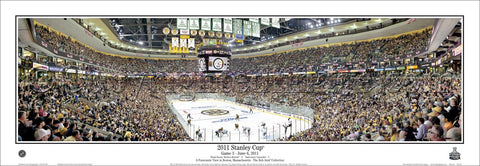 Boston Bruins Hockey 2011 Stanley Cup Game 3 Panoramic Arena Poster Print - Everlasting Images (MA-300)