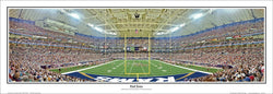 "St. Louis Rams Football Gameday ""End Zone"" Panoramic Poster Print - Everlasting Images"