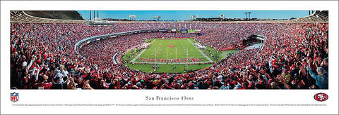 "San Francisco 49ers ""Touchdown"" Candlestick Park Gameday Panorama - Blakeway 2010"