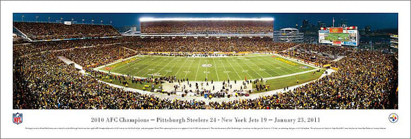 "Pittsburgh Steelers ""2010 AFC Champions"" Heinz Field Panorama - Blakeway 2011"