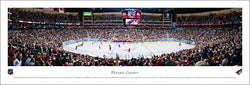 Phoenix Coyotes NHL Game Night Panoramic Poster Print (2011) - Blakeway Worldwide