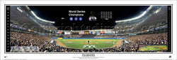 New York Yankees 2000 World Series Champions Panoramic Poster Print - Everlasting Images