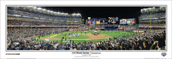 New York Yankees 2009 World Series Celebration Yankee Stadium Panoramic Poster Print - Everlasting Images