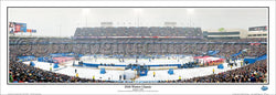 NHL Winter Classic 2008 (Pittsburgh Penguins at Buffalo Sabres) Panoramic Poster Print - Everlasting Images