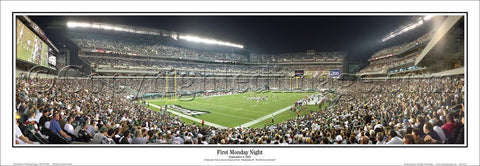 "Philadelphia Eagles ""First Monday Night"" (Lincoln Financial Field) Panoramic Poster - Everlasting"