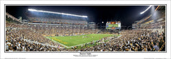 "Pittsburgh Steelers Heinz Field ""Banner Night"" Panoramic Poster Print - Everlasting Images"